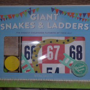 Giant Snakes & Ladders Board Game Outdoor Game